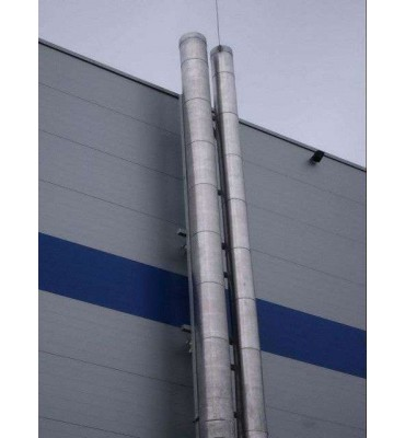 Фасадные дымовые трубы, фото, цена 0 грн